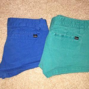Hurley Shorts Bundle